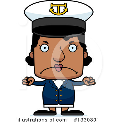 Captain Clipart #1330301 by Cory Thoman