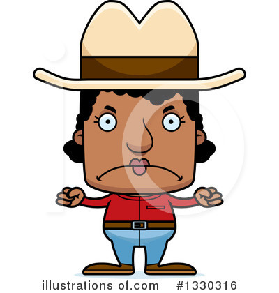 Cowboy Clipart #1330316 by Cory Thoman