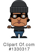 Block Headed Black Woman Clipart #1330317