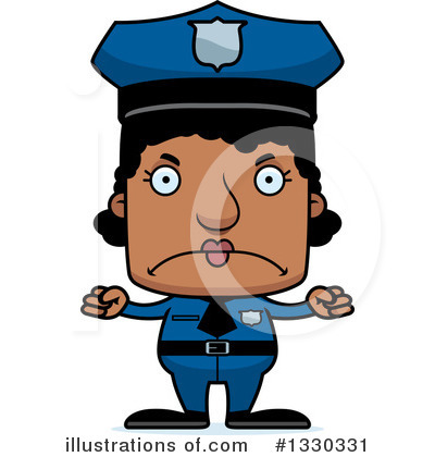 Police Man Clipart #1330331 by Cory Thoman