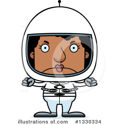Astronaut Clipart #1330334 by Cory Thoman