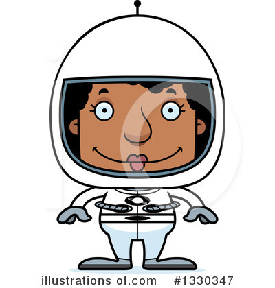 Astronaut Clipart #1330347 by Cory Thoman