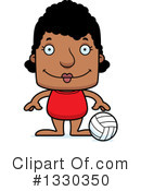 Block Headed Black Woman Clipart #1330350