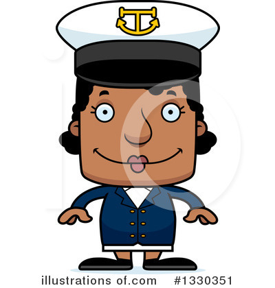 Captain Clipart #1330351 by Cory Thoman