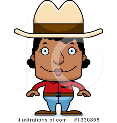 Cowboy Clipart #1330358 by Cory Thoman