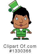 Block Headed Black Woman Clipart #1330366 by Cory Thoman