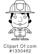 Block Headed Black Woman Clipart #1330462 by Cory Thoman