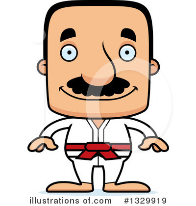 Karate Clipart #1329919 by Cory Thoman