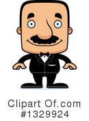 Block Headed Hispanic Man Clipart #1329924