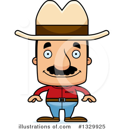 Cowboy Clipart #1329925 by Cory Thoman