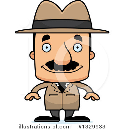 Detective Clipart #1329933 by Cory Thoman