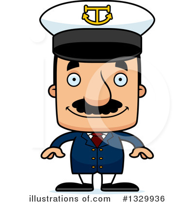 Captain Clipart #1329936 by Cory Thoman