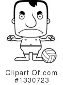Block Headed Man Clipart #1330723