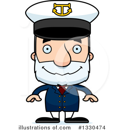 Captain Clipart #1330474 by Cory Thoman