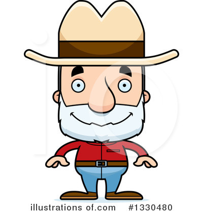 Cowboy Clipart #1330480 by Cory Thoman