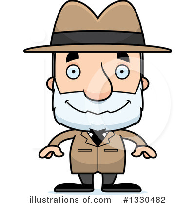 Detective Clipart #1330482 by Cory Thoman