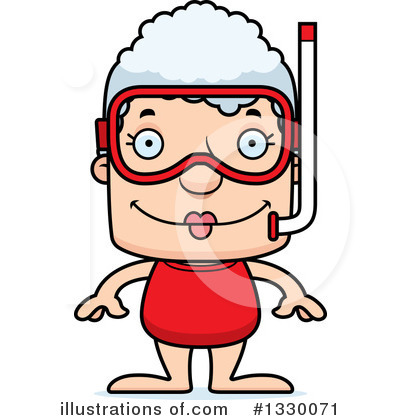 Snorkeling Clipart #1330071 by Cory Thoman