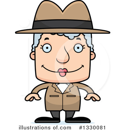 Detective Clipart #1330081 by Cory Thoman