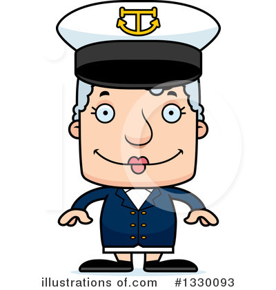 Captain Clipart #1330093 by Cory Thoman