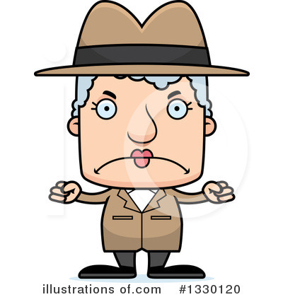 Detective Clipart #1330120 by Cory Thoman