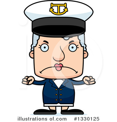 Captain Clipart #1330125 by Cory Thoman
