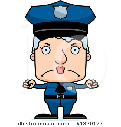 Police Man Clipart #1330127 by Cory Thoman