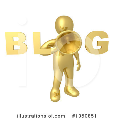 Blog Clipart #1050851 by 3poD