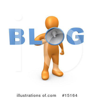 Blog Clipart #15164 by 3poD