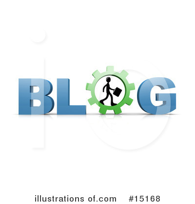 Blog Clipart #15168 by 3poD