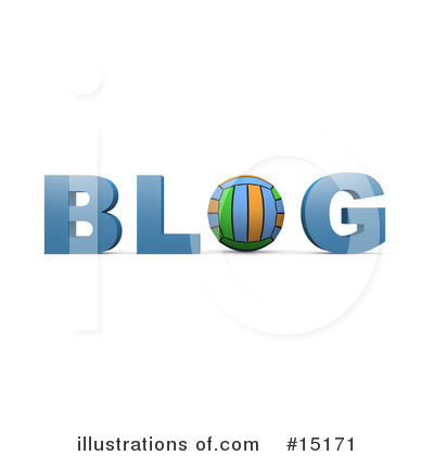 Blog Clipart #15171 by 3poD