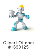 Blond Robot Clipart #1630125 by Julos