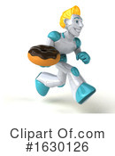 Blond Robot Clipart #1630126 by Julos