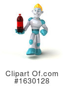 Blond Robot Clipart #1630128 by Julos