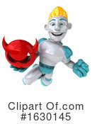 Blond Robot Clipart #1630145 by Julos