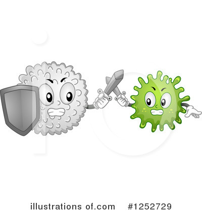 Blood Cell Clipart #1252729 by BNP Design Studio
