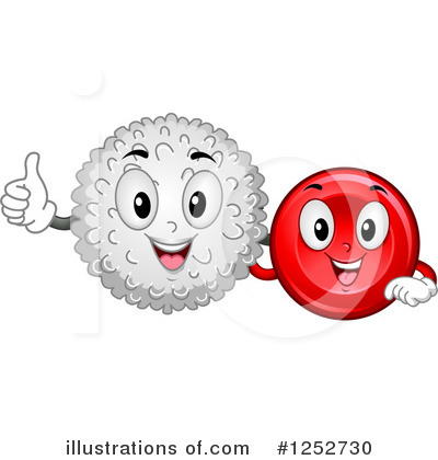 Blood Cell Clipart #1252730 by BNP Design Studio