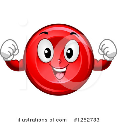 Blood Cell Clipart #1252733 by BNP Design Studio