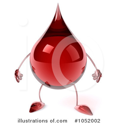 Blood Drop Clipart #1052002 by Julos