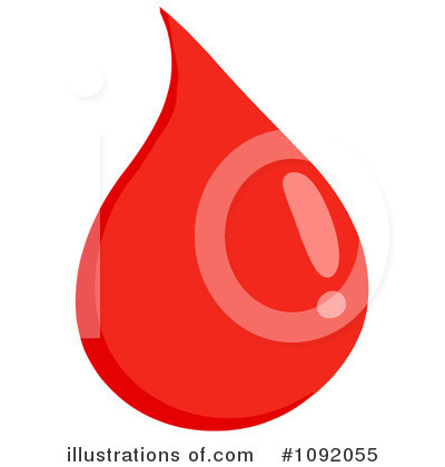 Blood Drop Clipart #1092055 by Hit Toon