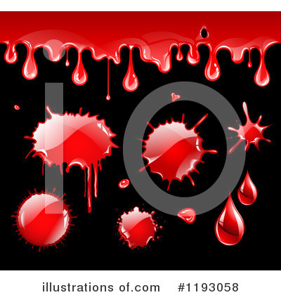 Blood Drop Clipart #1193058 by TA Images
