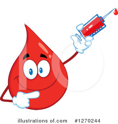 Syringe Clipart #1270244 by Hit Toon