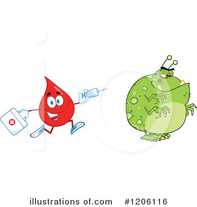 Flu Clipart #1206116 by Hit Toon