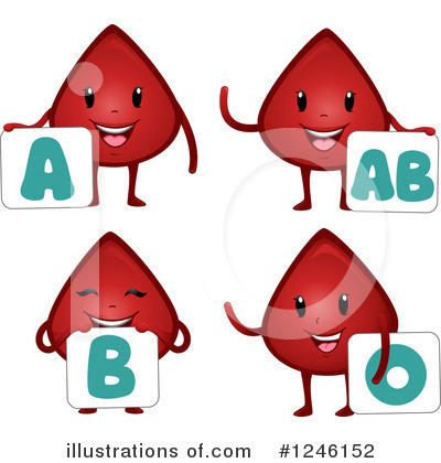 Royalty-Free (RF) Blood Drop Clipart Illustration by BNP Design Studio - Stock Sample #1246152