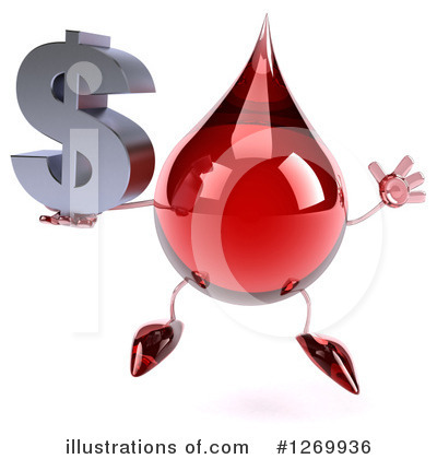 Blood Drop Clipart #1269936 by Julos