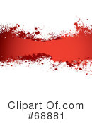 Blood Splatter Clipart #68881