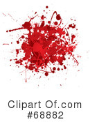 Blood Splatter Clipart #68882