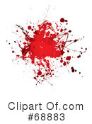 Blood Splatter Clipart #68883