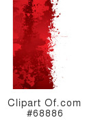 Blood Splatter Clipart #68886
