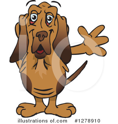 Dog Clipart #1278910 by Dennis Holmes Designs