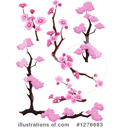 Blossoms Clipart #1276683 by BNP Design Studio